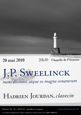 Jan Pieterszoon Sweelinck, Hadrien Jourdan
