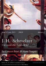J. H. Schmelzer, le Concert Brisé, William Dongois